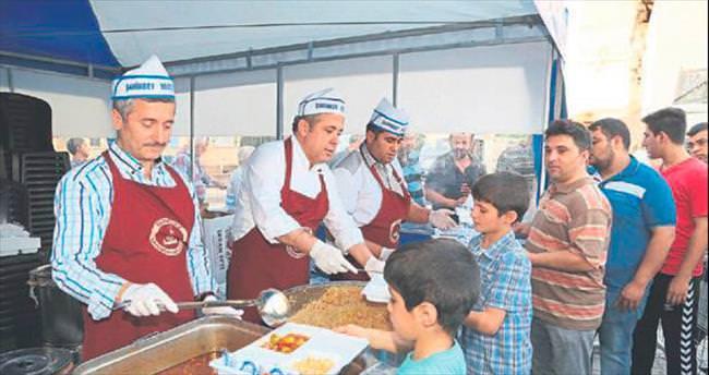 Şahinbey'de 87 bin kişi konakta buluştu