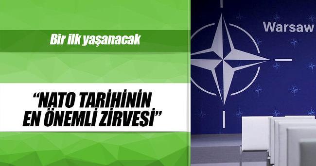 Tarihi NATO zirvesinde birinci gündem Rusya