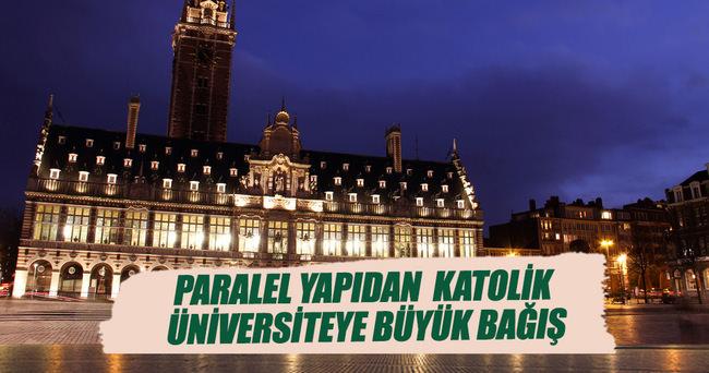 Katolik üniversiteye 'Paralel imam' bağışı
