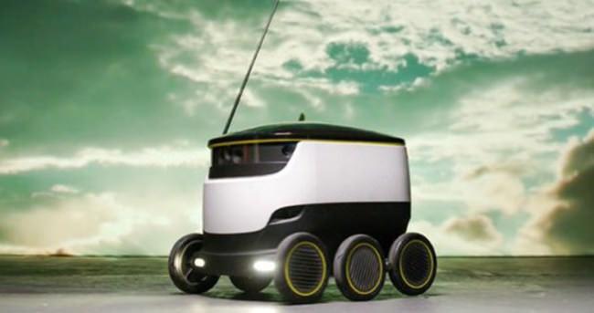 Robotlar paket servise çıkıyor!