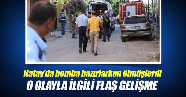 2 Suriyelinin evde patlayıcı hazırlarken öldüğü olayda flaş gelişme
