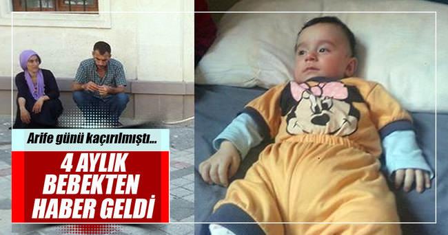 4 aylık Ahmet bebek bulundu