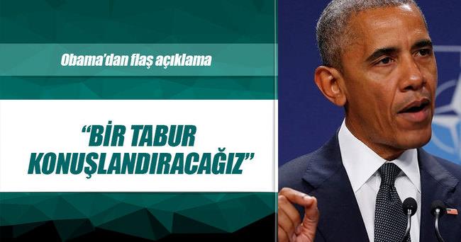 Obama: Asker göndereceğiz