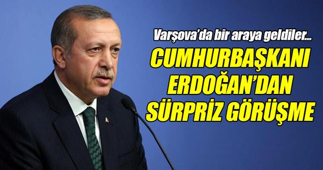 Erdoğan, İzzetbegoviç ile görüştü!
