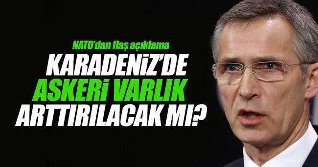 NATO'dan flaş Karadeniz açıklaması