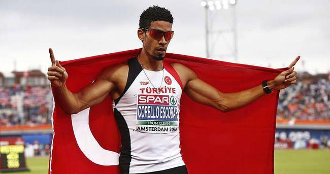 Milli atlet Escobar 400 metrede altın madalya kazandı!