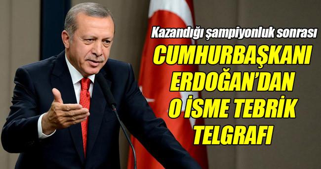 Cumhurbaşkanı Erdoğan, milli atlet Escobar'ı tebrik etti!