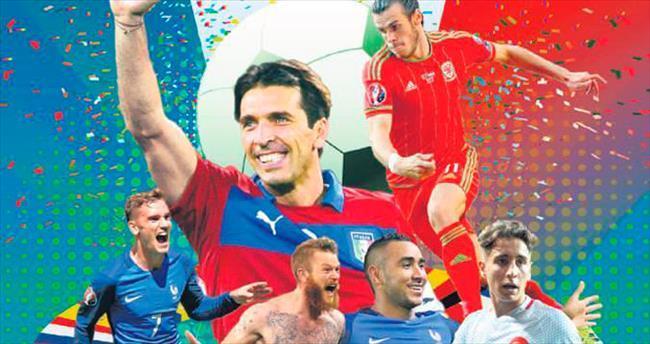 Euro 2016'nın en havalı futbolcuları Ronaldo-Buffon