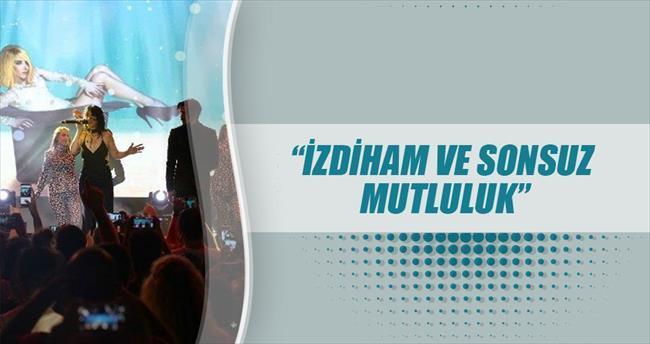 EXPO'da Hande Yener rüzgârı