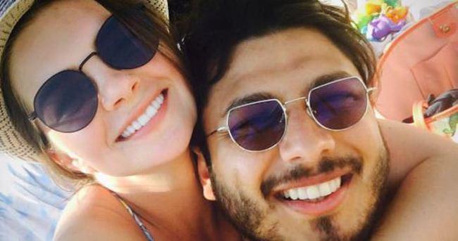 Pelin Karahan'ın eşinden mutluluk pozu