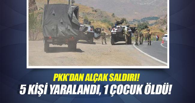 PKK'nın havan mermisi otomobile isabet eti: 1 ölü, 5 yaralı
