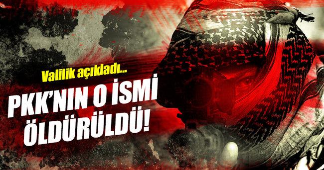 PKK'nın sözde Sinek Yayla sorumlusu öldürüldü!