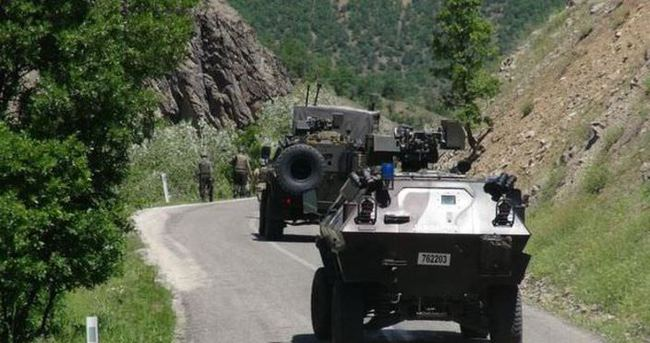 Tunceli'de askerlerin geçiş güzergahına tuzaklanan bombalar imha edildi