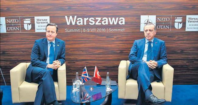 Cameron'la gündem Brexit