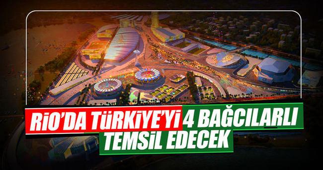 Rio'da Türkiye'yi Bağcılarlı 4 engelli atlet temsil edecek