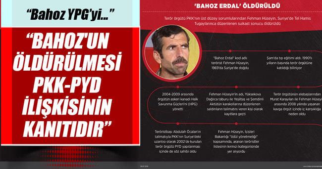 'Bahoz Erdal'ın öldürülmesi PKK-PYD ilişkisinin kanıtıdır'