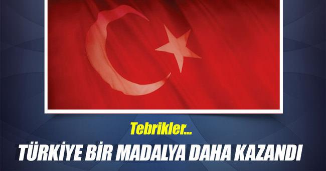 Türkiye bir madalya daha kazandı