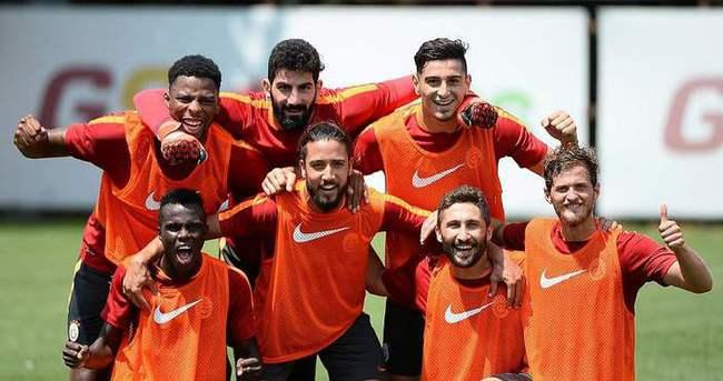 Galatasaray kamp için İsviçre'de