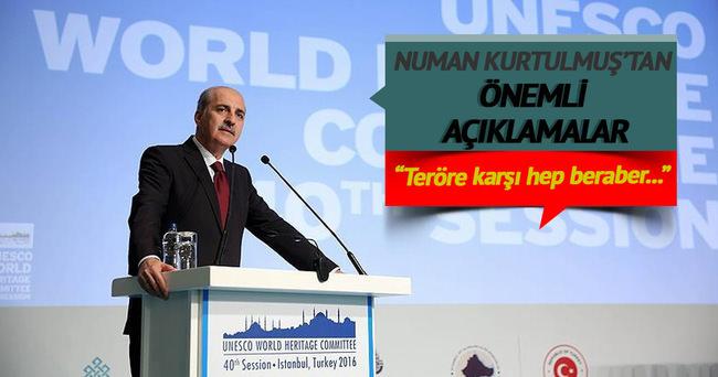 Başbakan Yardımcısı Kurtulmuş: Teröre karşı hep beraber bir siyasi iradeyi ortaya koyacağız