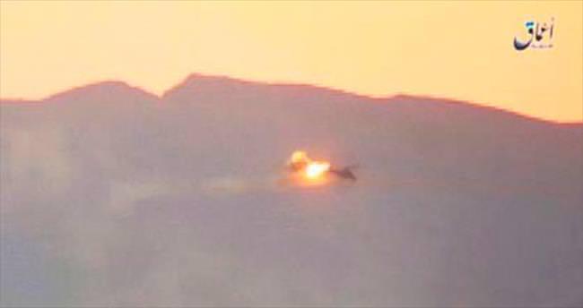 Rejim helikopteri düştü, Rus pilotlar öldü