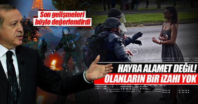 Cumhurbaşkanı Erdoğan: ABD'de olanların izahı yok