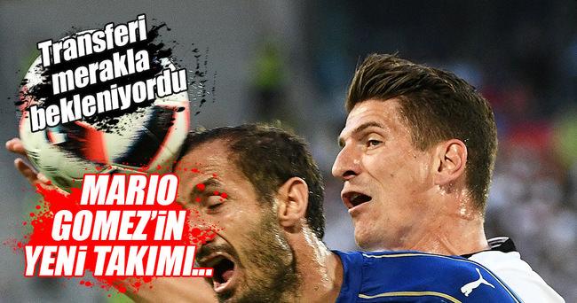 Mario Gomez'den Beşiktaş'a iyi haber
