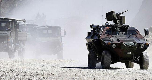 Askeri kışlanın yakınında korkutan patlama