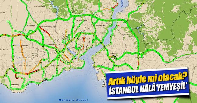 Tatilciler İstanbul'a dönmedi