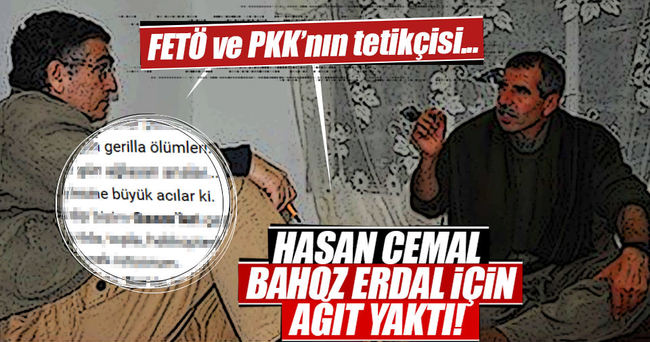 Hasan Cemal Bahoz Erdal için ağıt yaktı