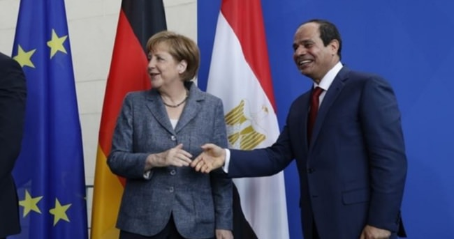 Mısır ile Almanya arasında güvenlik işbirliği