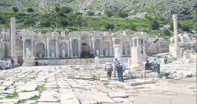 Sagalassos'un yerli ziyaretçisi arttı
