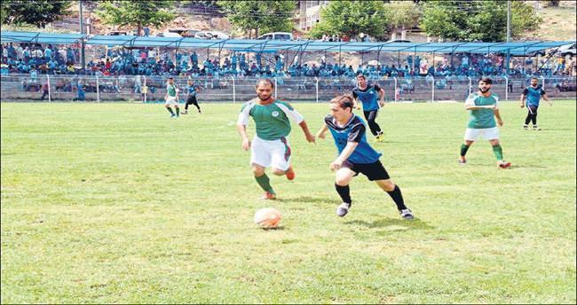 Fındıkpınarı'nda futbol turnuvası heyecanı sürüyor