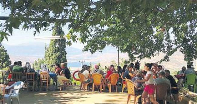 Temmuz sıcaklarına Beyköy molası
