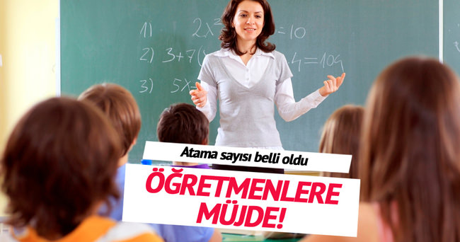 14 bin öğretmen atanacak