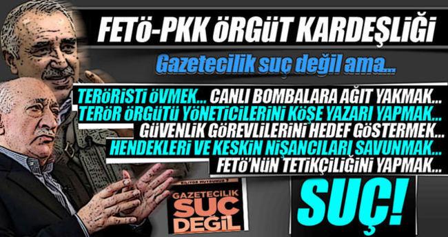 FETÖ-PKK örgüt kardeşliği!
