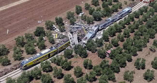 Yolcu trenleri çarpıştı! Onlarca ölü var