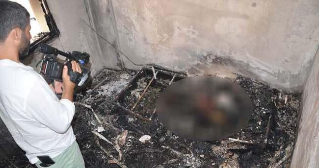 Öldürdükleri kadını bazanın içine koyup evi yaktılar