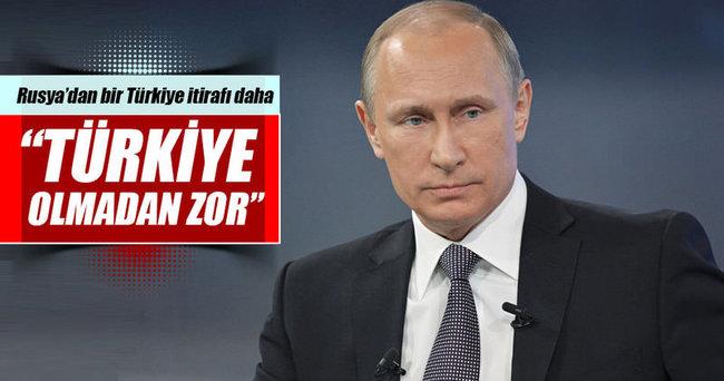 Rusya'dan bir Türkiye itirafı daha!