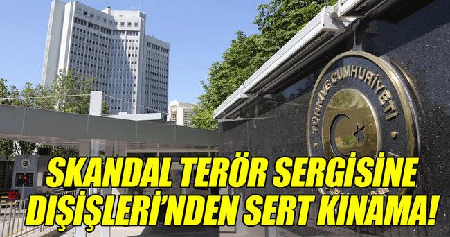 Türkiye, AP'de PKK ve PYD için açılan sergiyi kınadı