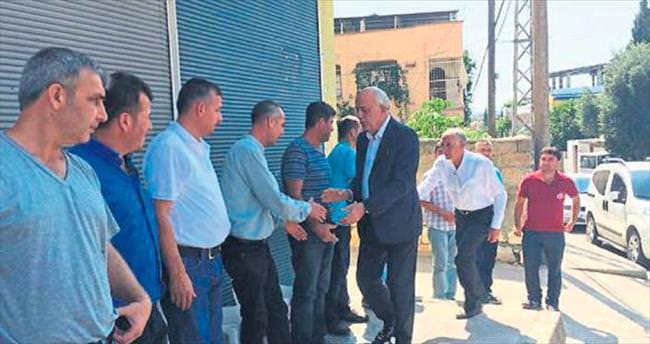 Başkan Seyfi Dingil halkla kaynaşıyor