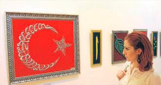 Tel tel dokunan sanatın sergisi
