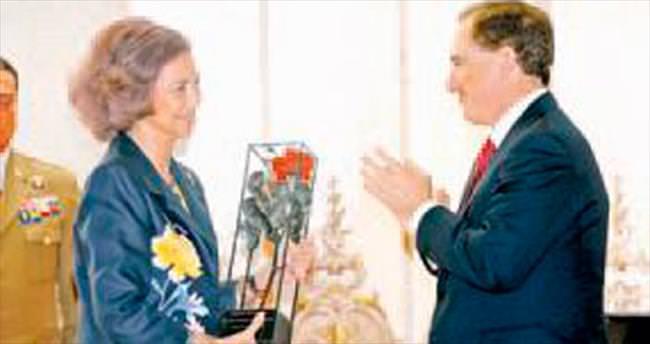 Mapfre Vakfı'ndan İspanya Kraliçesi'ne başarı ödülü