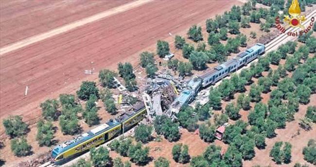 İtalya'da tren kazası: 25 ölü