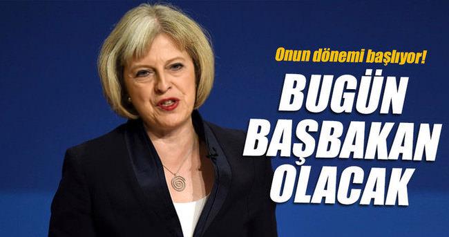 Bugün İngiltere Başbakanı olacak
