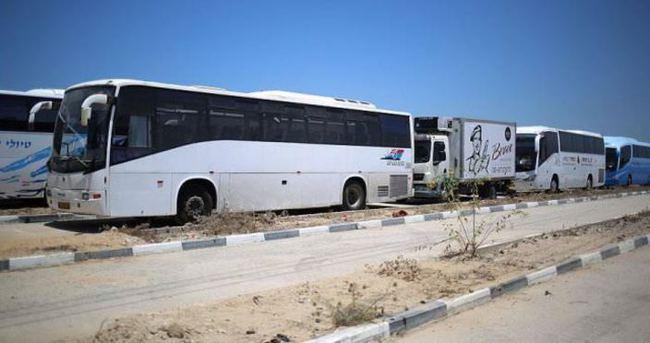 İsrail araç girişine izin verdi