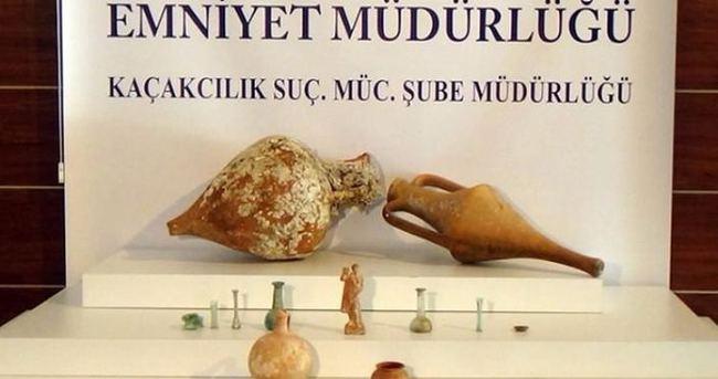 Paha biçilemeyen 2 bin yıllık heykel ele geçirildi