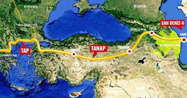 TANAP-Eskişehir hattı ihalesinde teklifler toplandı