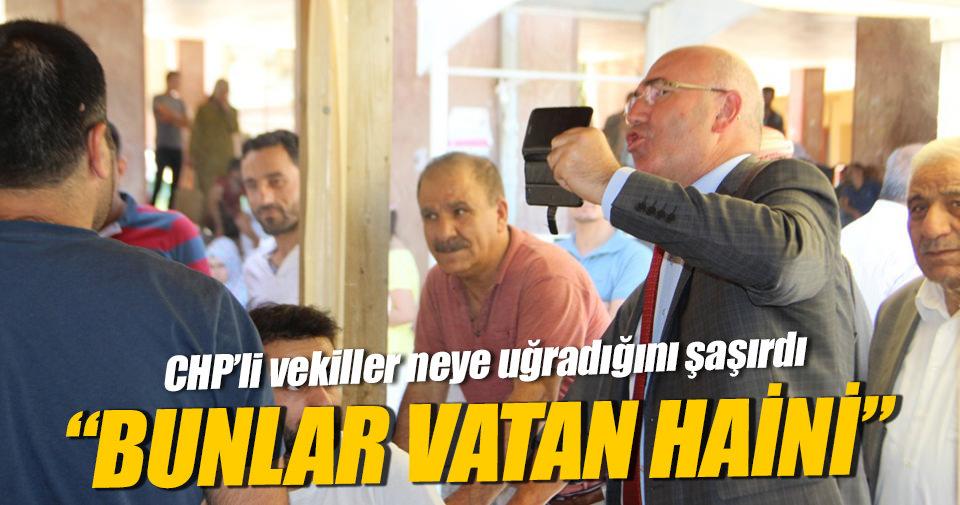 CHP'li vekillere büyük tepki: Bunlar vatan haini