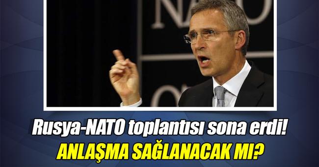 Rusya-NATO toplantısı sona erdi! İşte sonuç