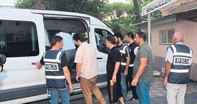 FETÖ'de gözaltı sayısı 21'e yükseldi
